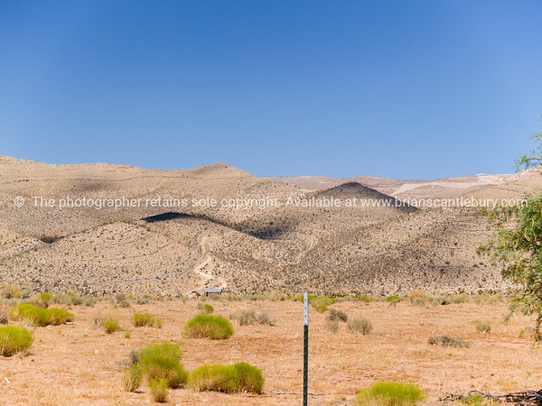 Rolling arid hills, Red Rock Canyon