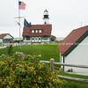 Portland Head Lighthouse, Cape Elizabeth, Casco Bay. Maine, USA