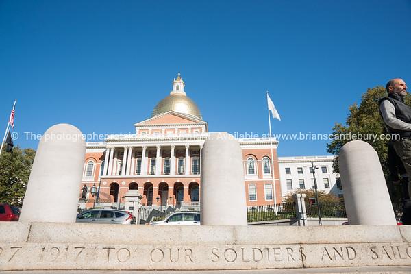 State Capitol Building, Boston USA.