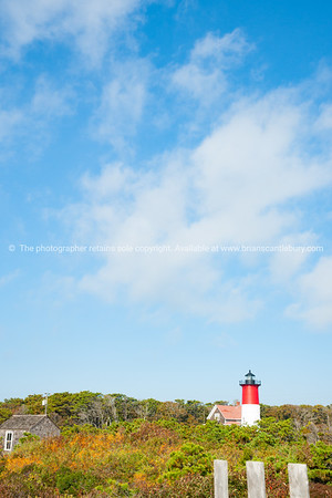 Nauset Beach,  Seashore and lighthouse.