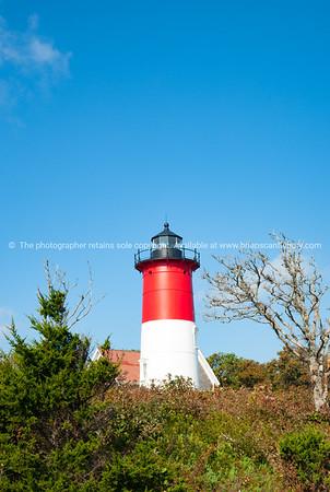 Nauset Beach,  Seashore and lighthouse.