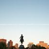 The George Washington Monument  Boston Public Garden,