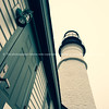 The tower structure at Portland Head Lighthouse, Cape Elizabeth, Casco Bay. Maine, USA