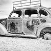 Old car at final destination left ro rust away.