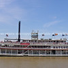 Natchez, paddle steamer on Mississippi River, New Orleans.
