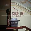 Bar sign, to Roof top Bar.