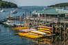 • Location - Downtown Bar Harbor Maine<br /> • A pace to rent canoes