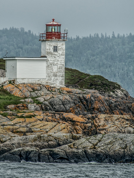• Location - Grand Manan Ferryboad ride from Blacks Harbour, New Brunswick<br /> • A view of the Pea Point lighthouse