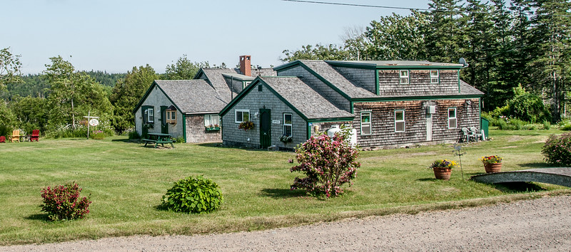 •Location - The Inn At Whale Cove on Grand Manan Island<br /> • View of  The Inn At Whale Cove