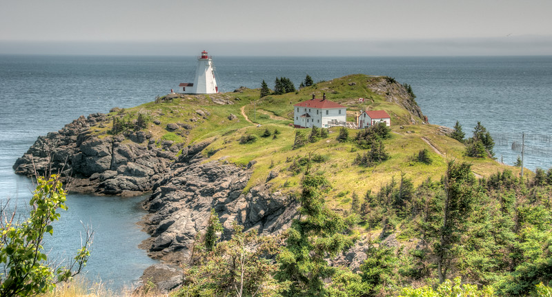 • Location - Grand Manan Island<br /> •  View of the Last Swallow Tail Lighthouse
