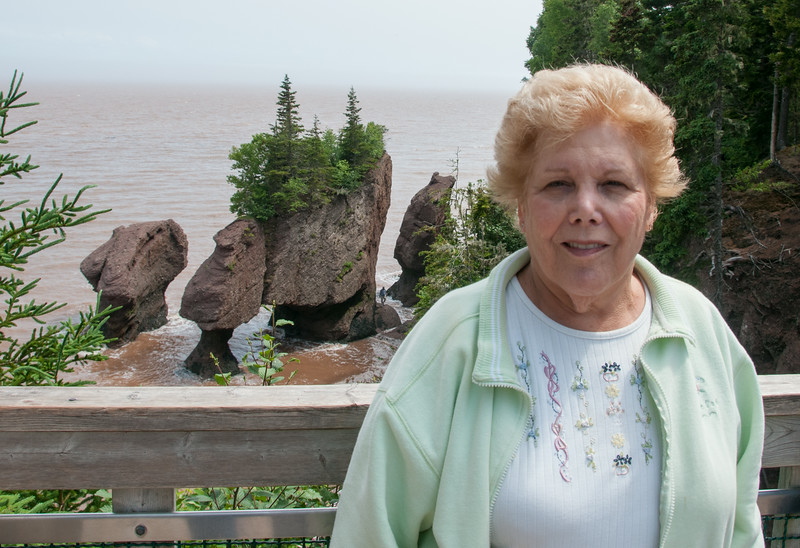 • Location - Hopewell Rocks in New Brunswick Canada<br /> • Sandy at Staircase Cove
