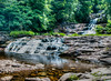 • Location - Kent Falls, CT<br /> • The bottom of Kent Waterfalls
