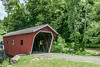 • Location - Kent Falls, CT<br /> • An unusual looking cover bridge for people