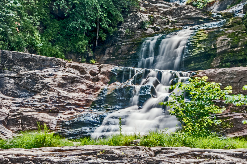 • Location - Kent Falls, CT<br /> • Different levels of Kent Waterfalls
