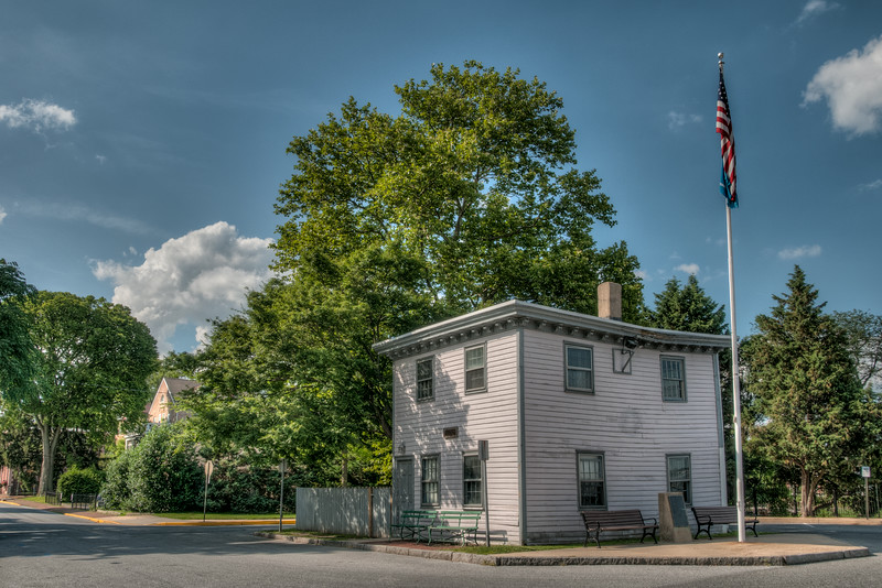• Location - New Castle, Delaware<br /> • An old building I saw when I got out of our car