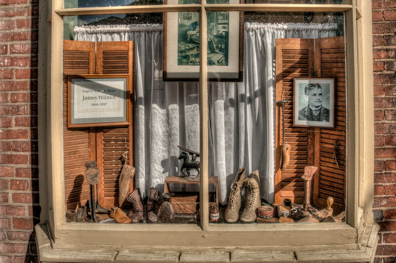 • Location - New Castle, Delaware<br /> •  These are mighty old boots and shoes