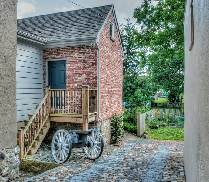 • Location - New Castle, Delaware<br /> • An unusual place to see a cannon