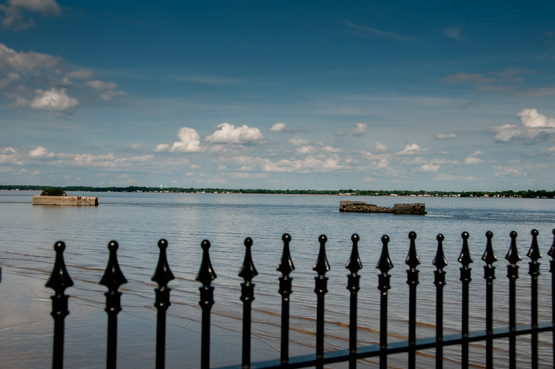 • Location - New Castle, Delaware<br /> • View of the Delaware River