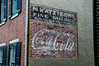 • Location - New Castle, Delaware<br /> • This is one old Coca Cola sign saw painted on this old building