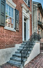 • Location - New Castle, Delaware<br /> • An entrance walkup to one of the old I saw
