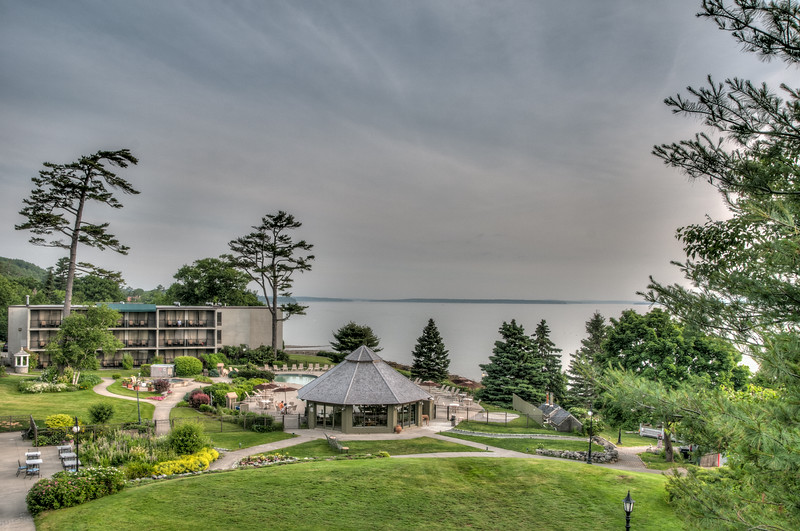 • Location - The Harbor Regency Holiday Inn Hotel<br /> • A view from our hotel room