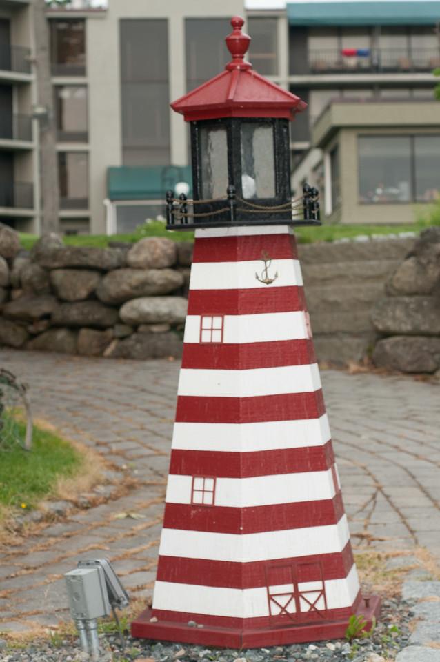 • Location - The Harbor Regency Holiday Inn Hotel<br /> • A miniature lighthouse