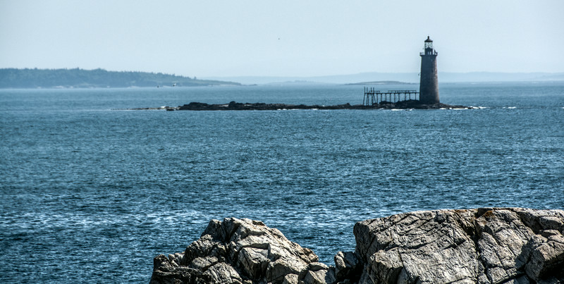 • Location - Cape Elizabeth, ME<br /> • Another lighthouse I saw in the distance that I zoom in on