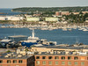 • Location - Holiday Inn in Portland, ME<br /> • A view of the port from our hotel window