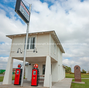 Lucille's Service Station, a classic and historic gas station along Route 66 near Hydro