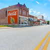 Brick buidlings,signs and street scenes Stroud, Oklahoma on Route 66