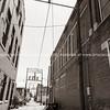 Brick buidlings and street scenes Sapulpa, Oklahoma on Route 66, USA.
