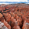 Bryce Amphitheater from the Rim Trail near Sunset Point, Bryce Canyon National Park, Utah