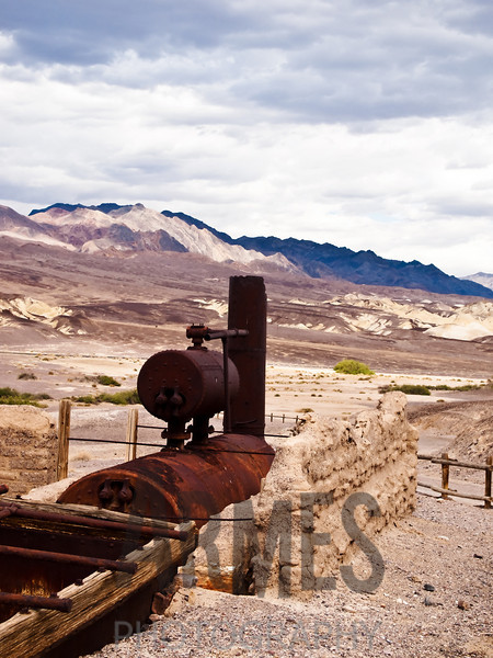 Harmony Borax Works, Death Valley National Park, California, USA