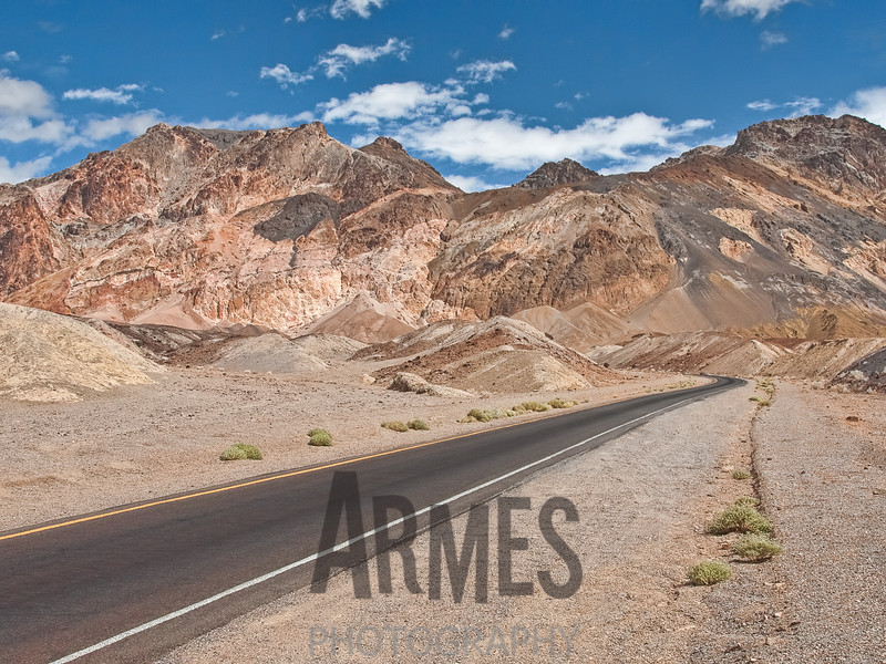 Artists Drive, Death Valley National Park, California, USA