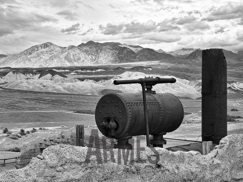 Harmony Borax Works, Death Valley National Park, California, USA