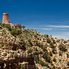 The Watchtower, Desert View, South Rim, Grand Canyon National Park, Arizona, USA