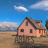 """John Moulton's """"pink house"""" on Mormon Row"""