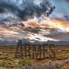 Sunset over the Teton Range