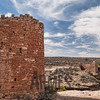 Hovenweep Castle and Hovenweep House in the background, Hovenweep National Monument, Colorado