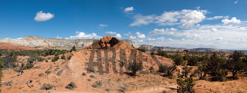 Shakespeare Arch Trail, Kodachrome Basin State Park, Utah (three images stitched)