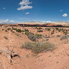 Panoramic view from Shakespeare Arch Trail, Kodachrome Basin State Park, Utah (five images stitched)