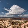 Thunderstorm brewing over Kodachrome Basin State Park, Utah