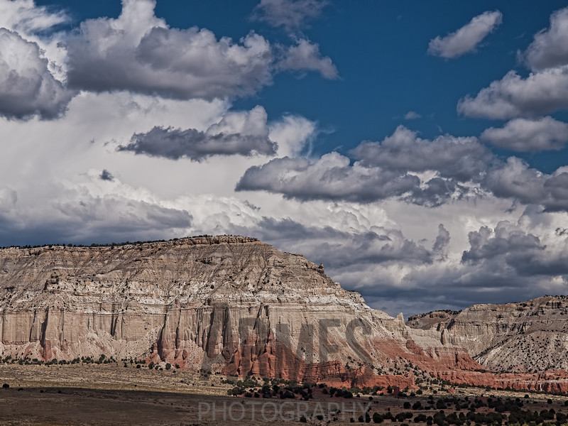 View of Grand Staircase-Escalante National Monument from Sentinel Trail, Kodachrome Basin State Park, Utah