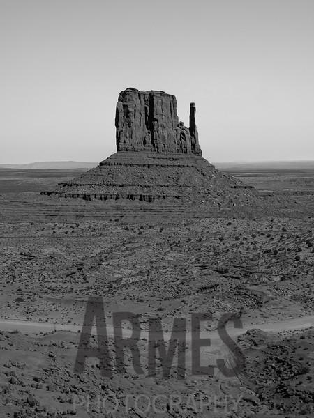 West Mitten Butte, Monument Valley, Navajo Tribal Park, Arizona