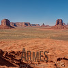 View from Artist Point Overlook, Monument Valley, Navajo Tribal Park, Arizona