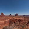From left to right: West Mitten Butte, East Mitten Butte, Merrick Butte, Elephant Butte, Monument Valley, Navajo Tribal Park, Arizona