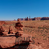 Totem Pole and Yei Bi Chei, Monument Valley, Navajo Tribal Park, Arizona