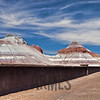 The Tepees, Painted Desert, Petrified Forest National Park, Arizona, USA