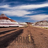 The Tepees, Painted Desert, Petrified Forest National Park, Arizona, USA
