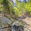 Bridalveil Fall & Bridalveil Creek, Yosemite National Park, California